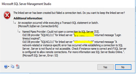 Error_DB_Link